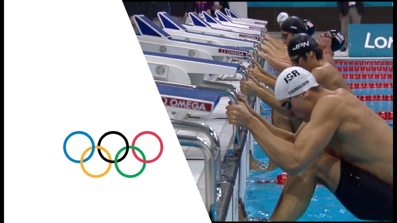 Swimming Men's 200m Backstroke Final - London 2012 Olympic ...