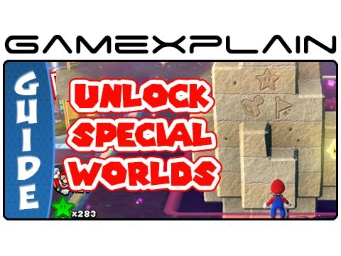 Unlock Special Worlds In Super Mario 3D World - Guide & Walkthrough (Wii U) - Smashpipe Games Video