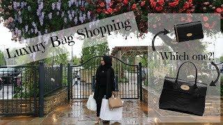 Vlog - Luxury Handbag Shopping   Bicester Village
