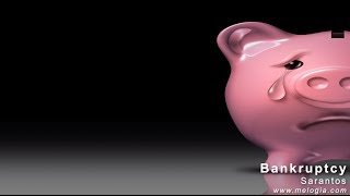 Sarantos Bankruptcy Music Video (no subtitles) - new indie pop rock song