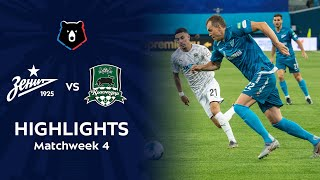 Highlights Zenit vs FC Krasnodar (1-1)