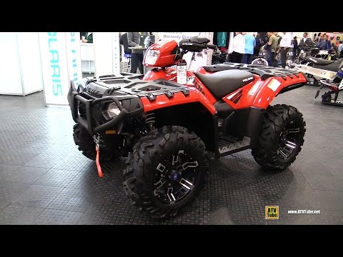 2016 Polaris Sportsman XP 1000 Recreational Review - Walkaround - 2016 Toronto ATV Show