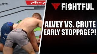 Was Sam Alvey vs. Jim Crute Stopped Early At UFC 234?