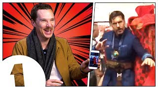 Benedict Cumberbatch reacts to Doctor Strange memes