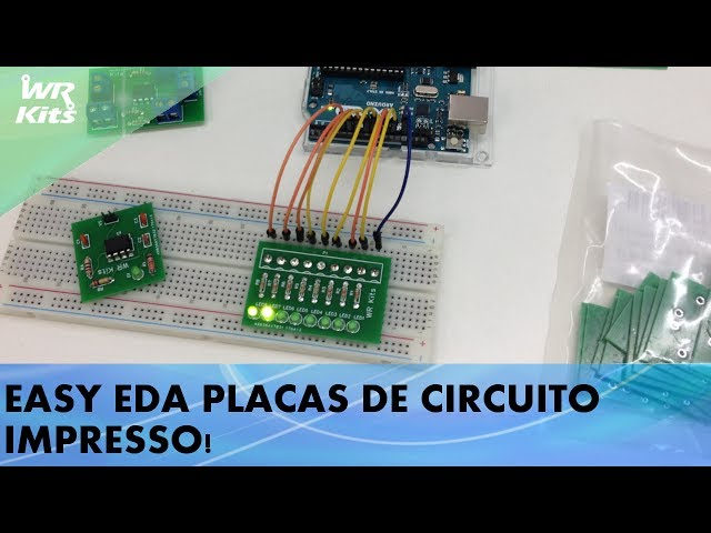 CHEGARAM AS NOVAS PCBs DO EASY EDA!