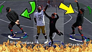 9 CONTESTED GREEN LIGHT 3's IN A ROW! MOST OP JUMPSHOT EVER CREATED ON YOUTUBE! - NBA 2K18 MyPark