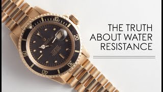 The Truth About Water Resistance   RANT&H
