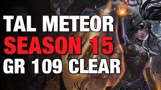 Diablo 3 Wizard Tal Meteor GR109 Season 15 Patch 2.6.1