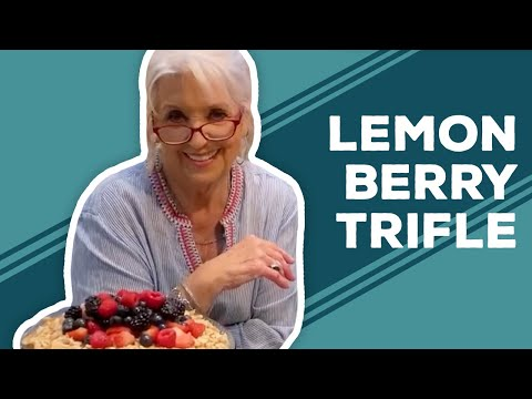 Quarantine Cooking: 4th of July Lemon Berry Trifle Recipe