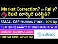 Stock Market Correction? FIIs Money?, TATA POWER STOCK, SUBEX STOCK, FEDERAL BANK STOCK