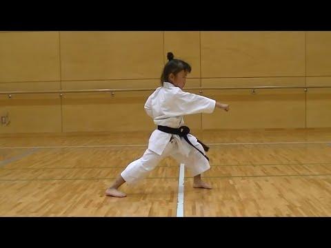 7 Year Old Girl Karate Master