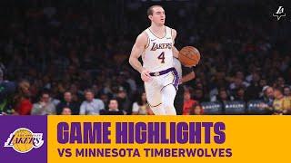 HIGHLIGHTS | Alex Caruso (16 pts, 4 reb, 4 ast, 2 stl) vs. Minnesota Timberwolves