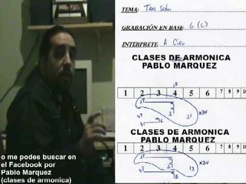 TAN SOLO INTRODUCCION: CLASES DE ARMONICA PABLO MARQUEZ
