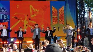 190515 Fire @ BTS 방탄소년단 Good Morning America GMA Summer Concert New York