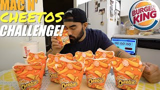 BURGER KING MAC N' CHEETOS CHALLENGE | 10 BOXES