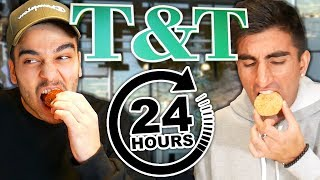 We Only Ate T&T For 24 HOURS! *WORST FOOD CHALLENGE EVER*