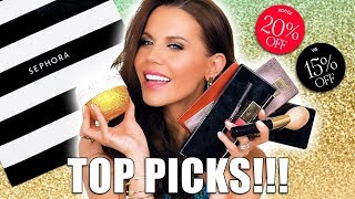 "SEPHORA ""VIB SALE"" TOP PICKS"