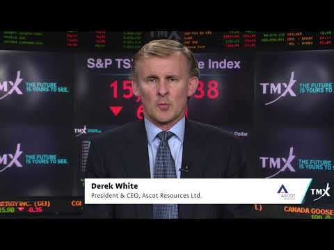 Video: View from the C-Suite: Derek White, President and CEO, Ascot Resources Ltd., tells his company's story.