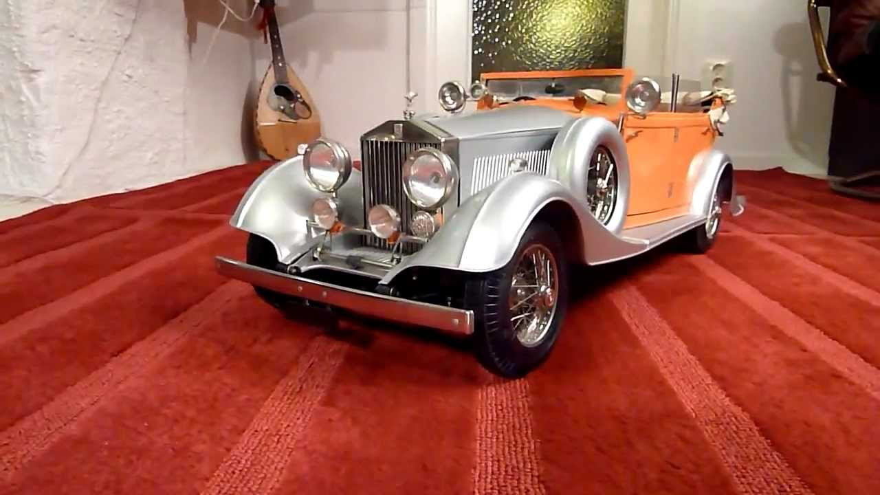 Pocher Modell Rolls Royce K75 The Star Of India Youtube