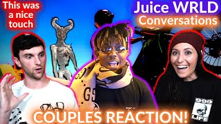 COUPLE REACTS to Juice WRLD - Conversations (Official Music Video)