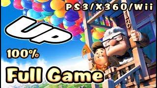 Disney Pixar's UP FULL GAME 100% Longplay (PS3, X360, Wii)