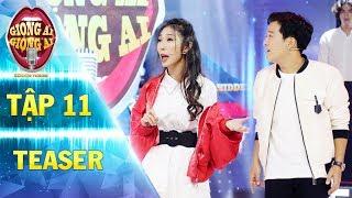 Giọng ải giọng ai 2 | teaser tập 11:Khổng Tú Quỳnh làm Trường Giang muốn