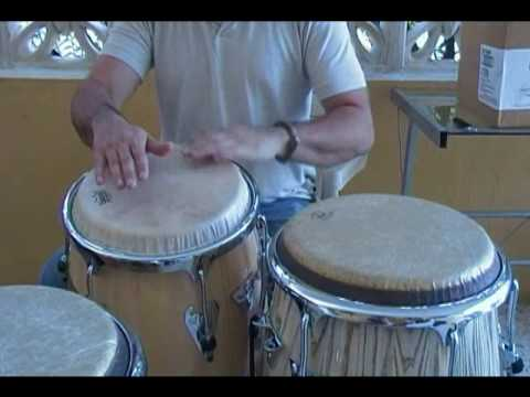 Técnica de Congas en Merengue (Video Original) How to play merengue on congas