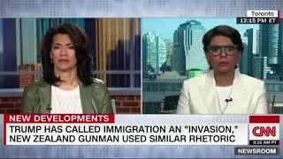 """Why did CNN cut her off after she destroyed their Islamophobia hoax? """"Ok thank you"""""""