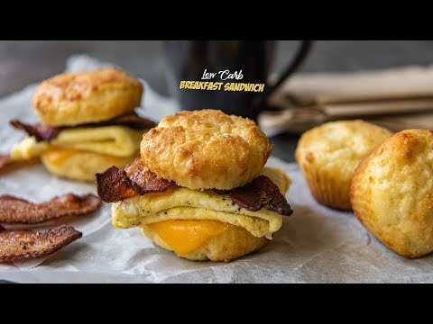 Easy Keto Breakfast Sandwich Recipe