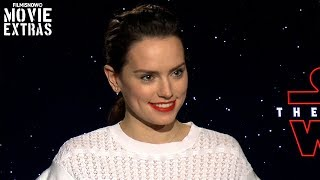 Star Wars: The Last Jedi (2017) Daisy Ridley talks about her experience making the movie