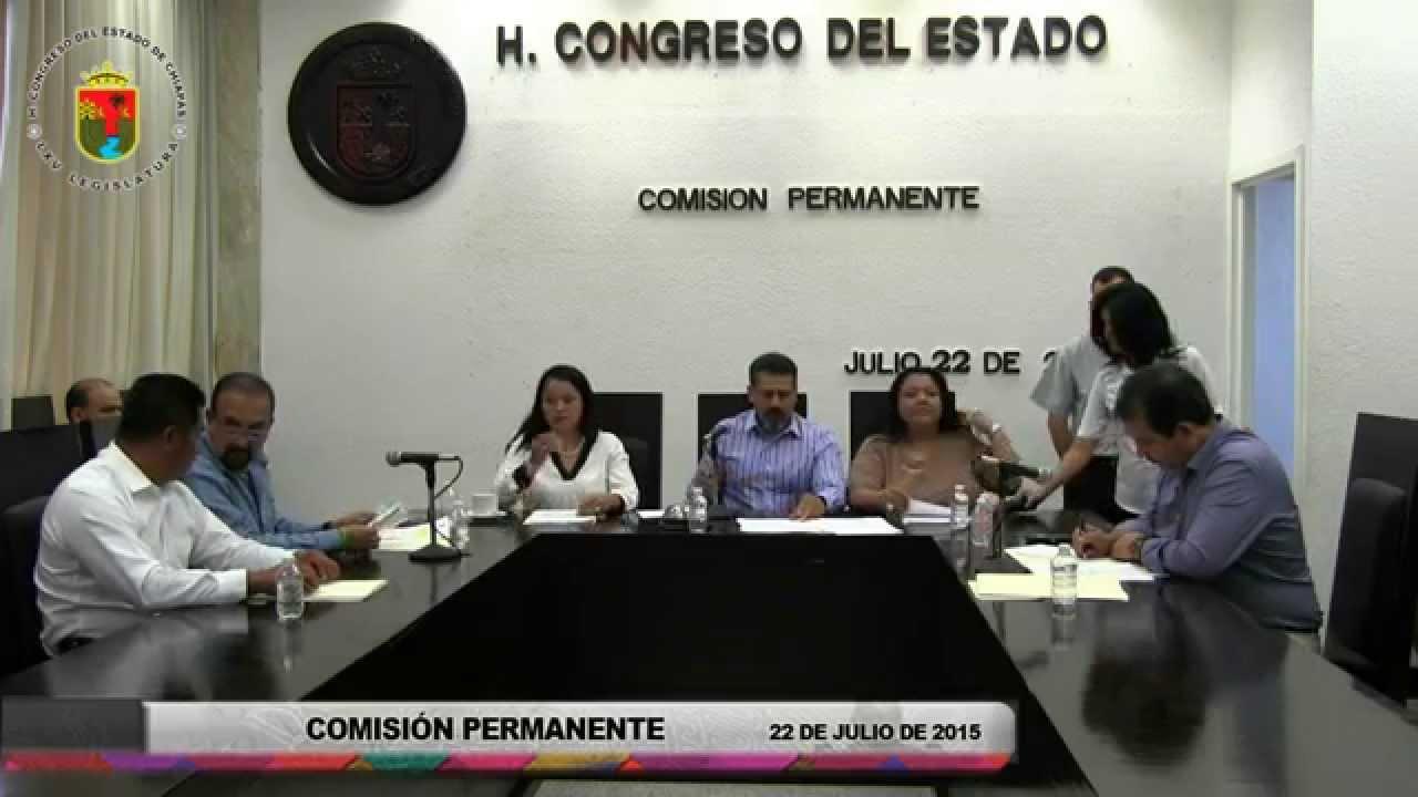 Comisión Permanente 22 de Julio de 2015