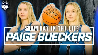 Paige Bueckers has the SWAGGIEST Game in the COUNTRY 😈 | SLAM Day in the Life