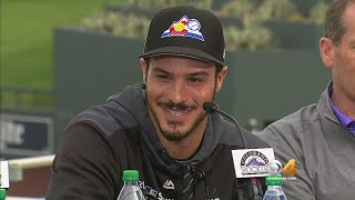 Colorado Rockies Announce Contract Extension With Nolan Arenado