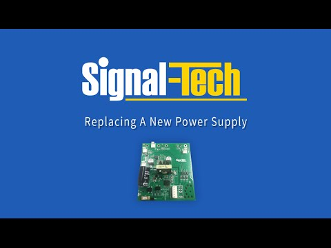 Replacing A New Power Supply