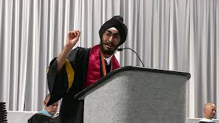 JJ Kapur - Valley High School Graduation Speech 2018
