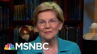 Lawrence Interviews Presidential Contender Elizabeth Warren | The Last Word | MSNBC