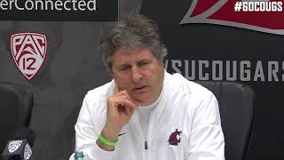 Mike Leach USC Postgame