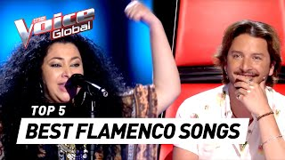 BEST FLAMENCO SONGS in The Voice