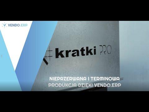 VENDO.ERP wspiera rozwój Kratki.pl