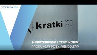 Nieprzerwana i terminowa produkcja dzięki VENDO.ERP w Kratki.pl
