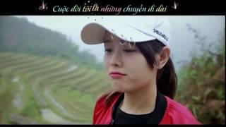 Đi Để Trở Về - Soobin Hoàng Sơn [MV- Phượt Thủ của cặp đôi đáng yêu] kara+ lyric