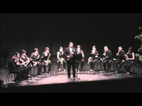 D-SAXフランス公演 Jacques Ibert Concertino da Camera 1st Mov