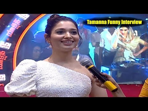 Action Heroine Tamanna Funny Interview