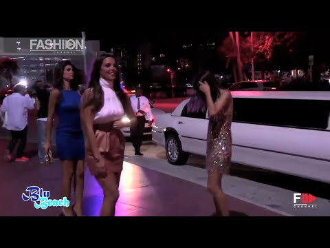 """YAMAMAY"" Blu Beach Paradyse Story at Miami Fashion Week 2014"