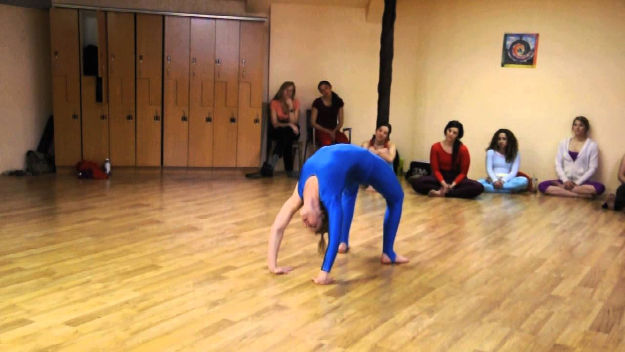 Katie Hoover at the 2014 USA Women's Artistic Yoga ...