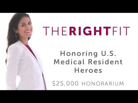 TheRightFit H.E.R.O. Honorarium (Honoring Exceptional Resident Observations) presentation, announcing Dr. Jonathan Santoro (Tulane grad, Pediatric Neurology Resident at Lucile Packard Children's Hospital at Stanford University) as the 2015 recipient.