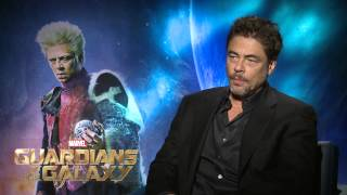 "Marvel's ""Guardians of the Galaxy"" – Benicio Del Toro Interview"