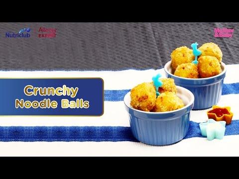 Resep Crunchy Noodle Balls