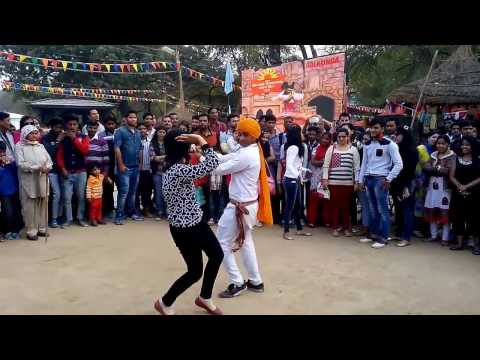 Awesome Nagada Dance by Rajasthani Boy at Surajkund Mela 2016