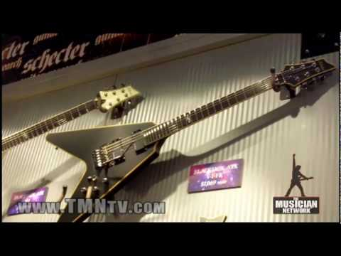 WINTER NAMM 2010 - SCHECTER GUITARS - Booth Walk-Through